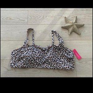 Cheetah print bathing suit top!